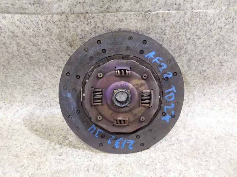 Диск сцепления Nissan Atlas AF22 TD27