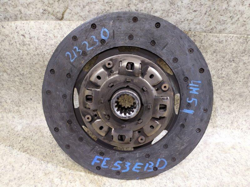 Диск сцепления Mitsubishi Canter FE53EBD 4M51