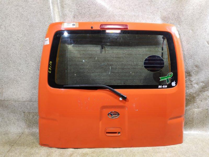 Дверь задняя Daihatsu Hijet S321V 2008 задняя