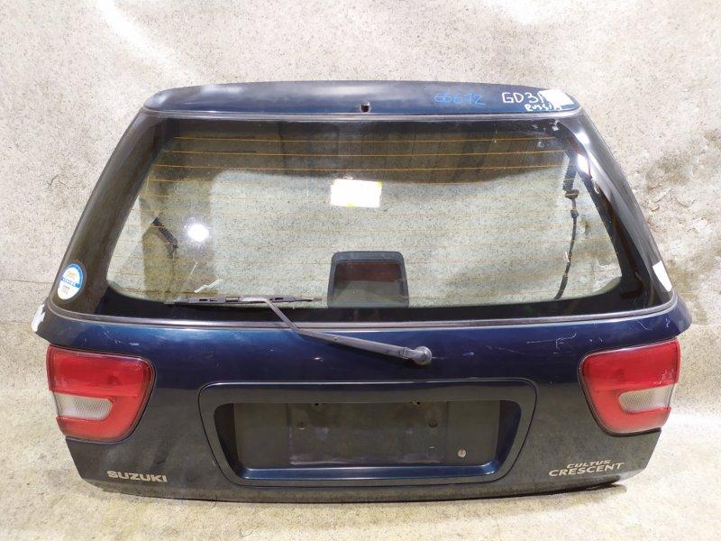 Дверь задняя Suzuki Cultus GC21W задняя