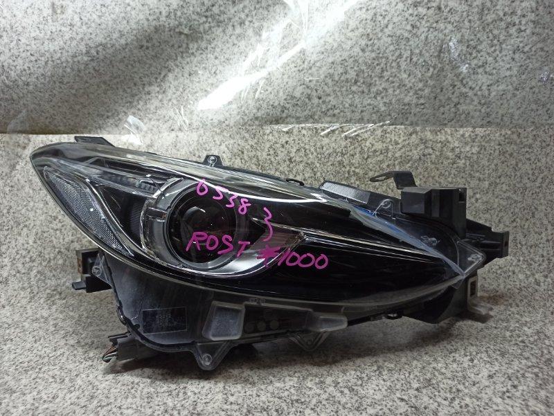 Фара Mazda Axela BM5FS передняя правая