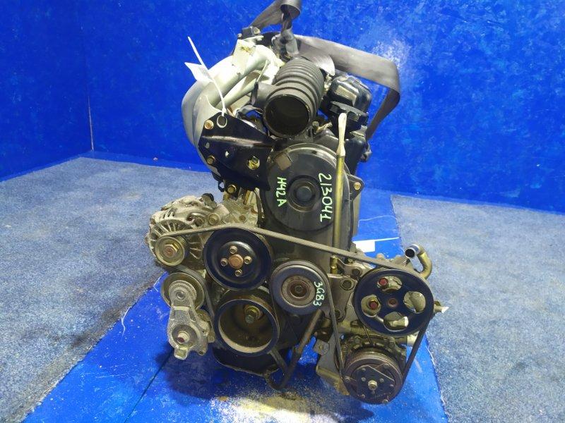 Двигатель Mitsubishi Toppo Bj H42A 3G83 2001