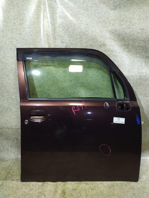 Дверь Daihatsu Move Conte L575S 2009 передняя правая