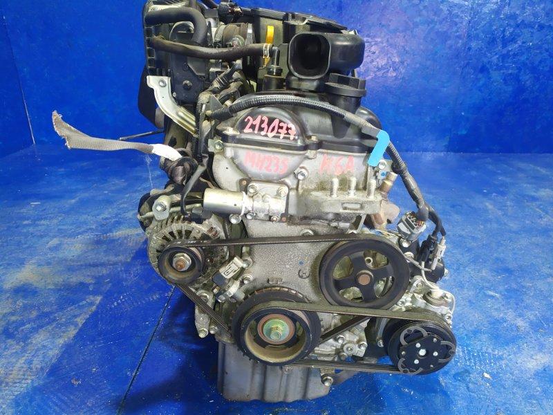 Двигатель Suzuki Wagon R MH23S K6A 2009