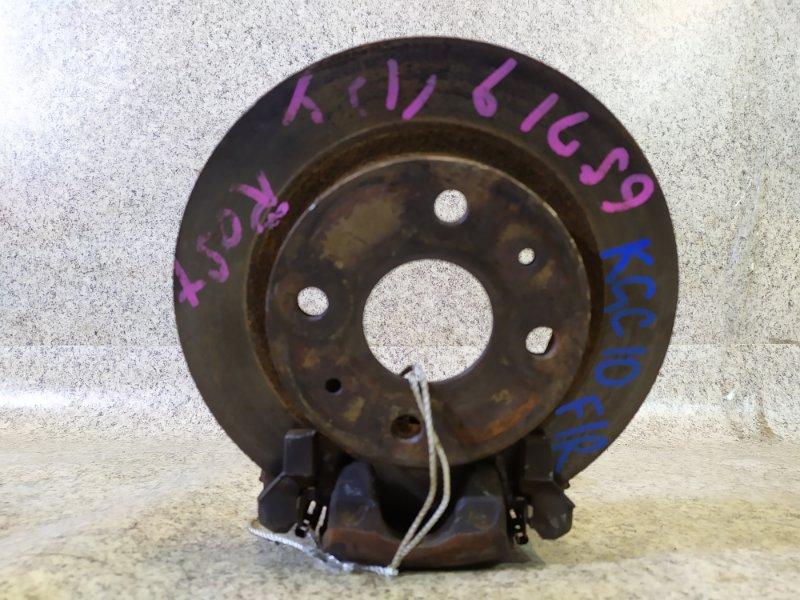 Тормозной диск Toyota Passo KGC10 передний правый