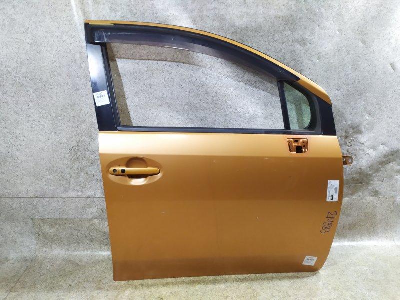 Дверь Toyota Passo Sette M502E 2009 передняя правая