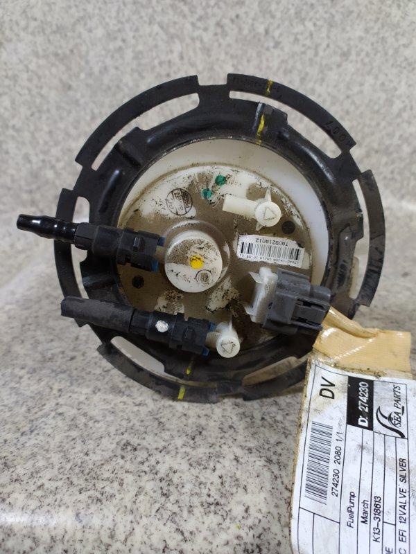 Топливный насос Nissan March K13 HR12 2010