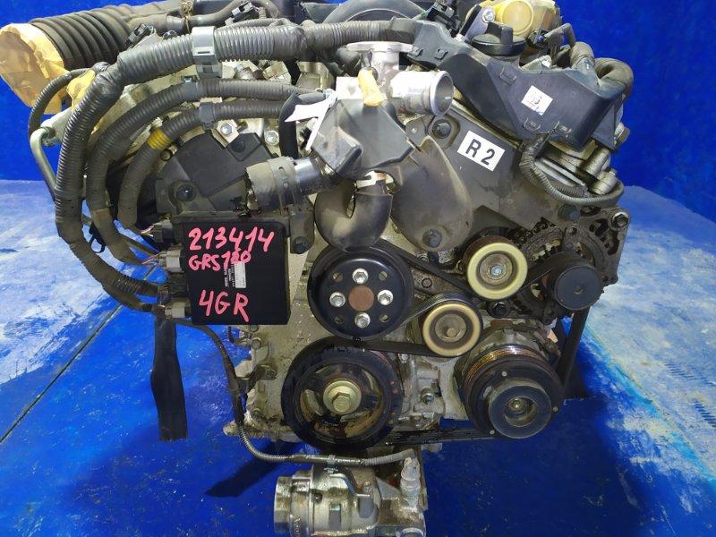 Двигатель Toyota Crown GRS180 4GR-FSE 2004