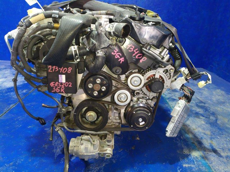 Двигатель Toyota Crown GRS202 3GR-FSE 2012