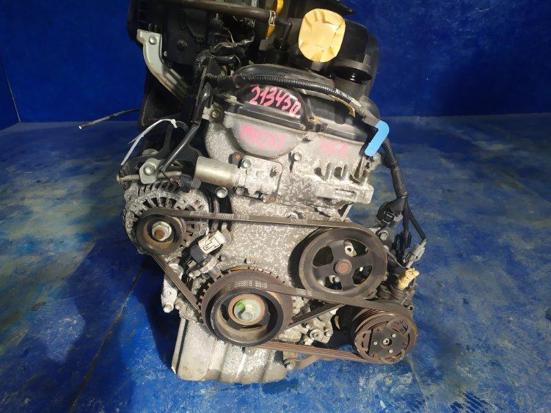 Двигатель Suzuki Wagon R MH23S K6A 2011