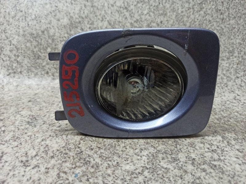 Туманка Nissan Cube BGZ11 2003 передняя правая