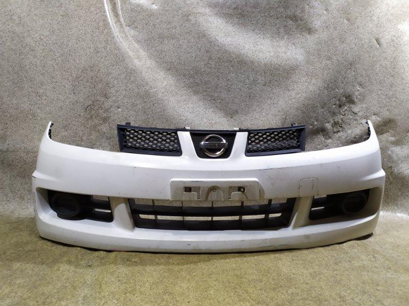 Бампер Nissan Wingroad Y12 2006 передний