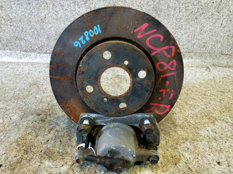 Тормозной диск Toyota Sienta NCP81 передний правый