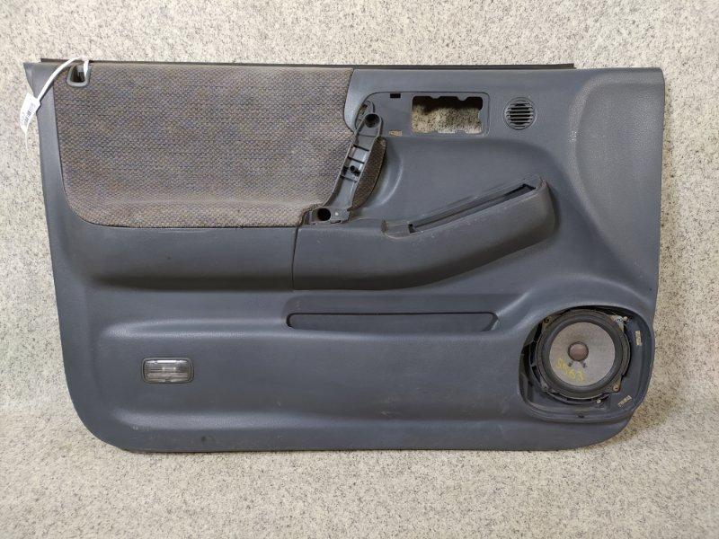 Обшивка дверей Isuzu Wizard UES73FW 4JX1 1998 передняя левая
