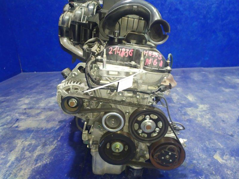 Двигатель Mazda Carol HB35S R06A 2014
