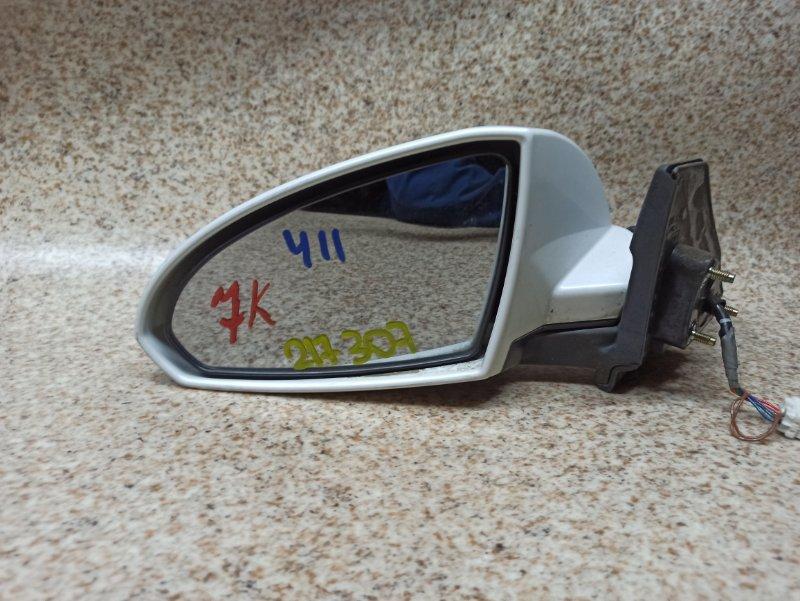 Зеркало Nissan Wingroad WFY11 переднее левое