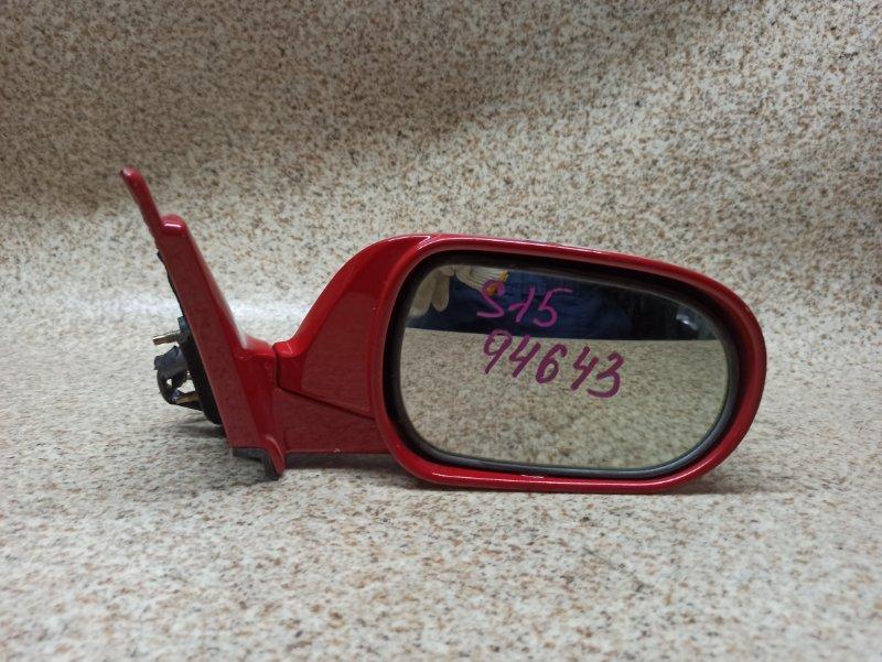 Зеркало Nissan Silvia S15 SR20DE переднее правое