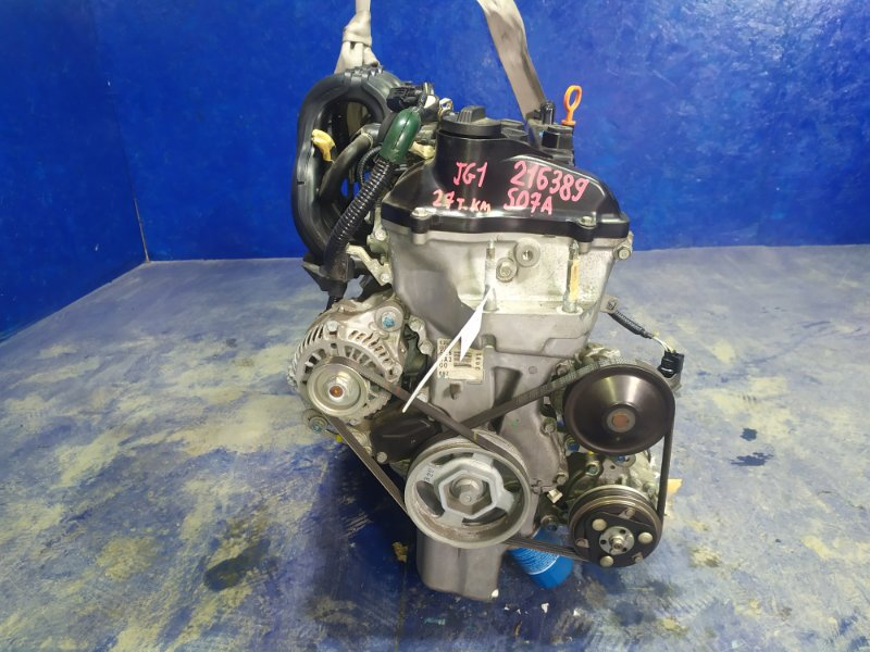 Двигатель Honda N-One JG1 S07A 2013