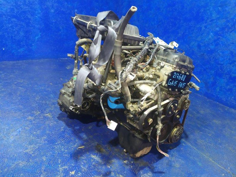 Двигатель Nissan Pulsar FN15 GA15DE 1998