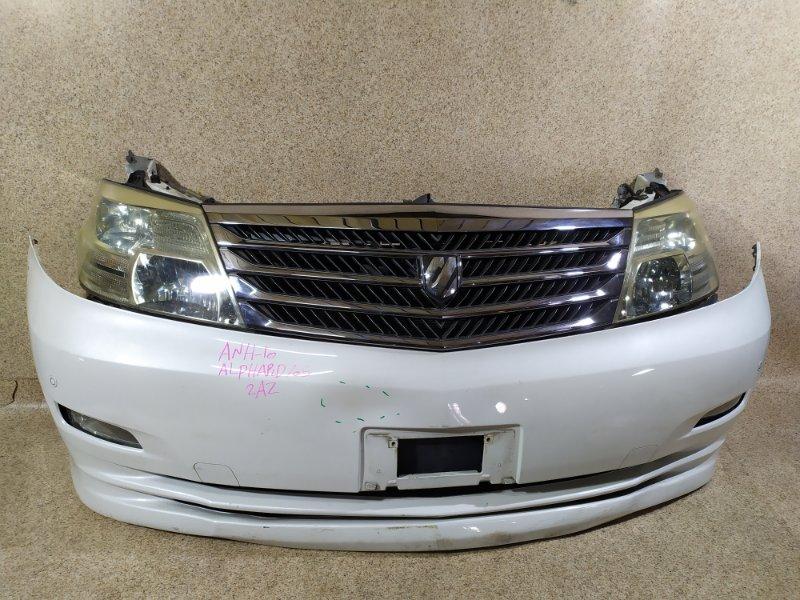 Nose cut Toyota Alphard ANH10 2AZ-FE 2005 передний