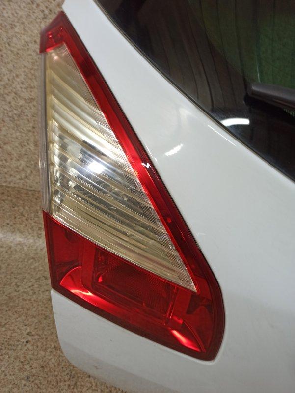 Дверь задняя Renault Megane KZ0G задняя