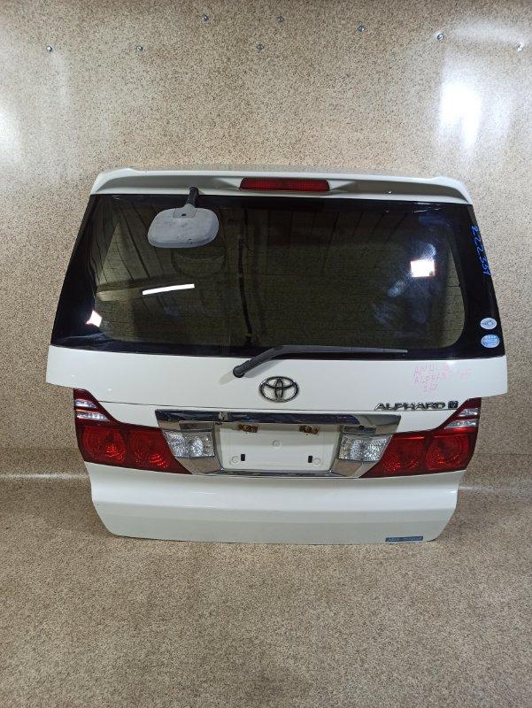Дверь задняя Toyota Alphard ANH10 задняя