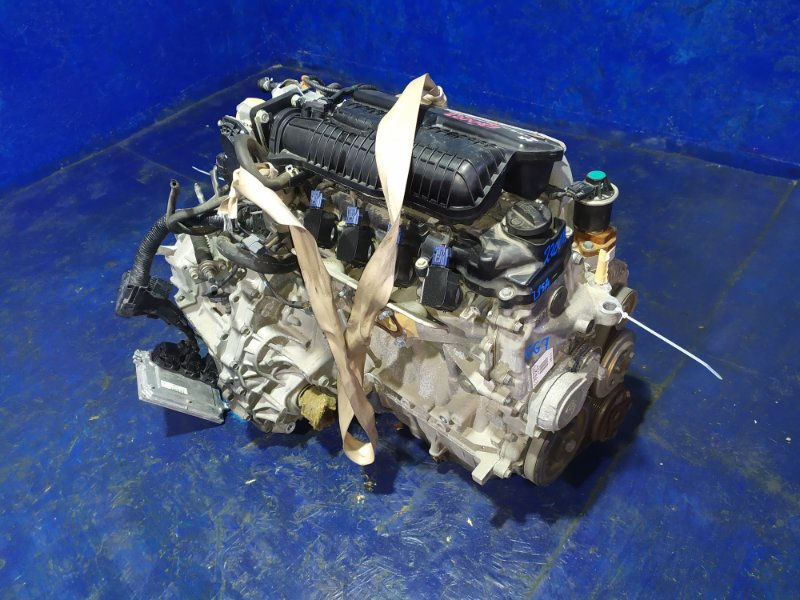 Двигатель Honda Fit Shuttle GG7 L15A VTEC 2011