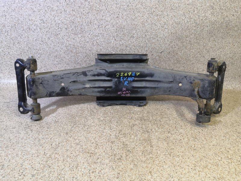 Балка подвески Toyota Vista SV40 задняя