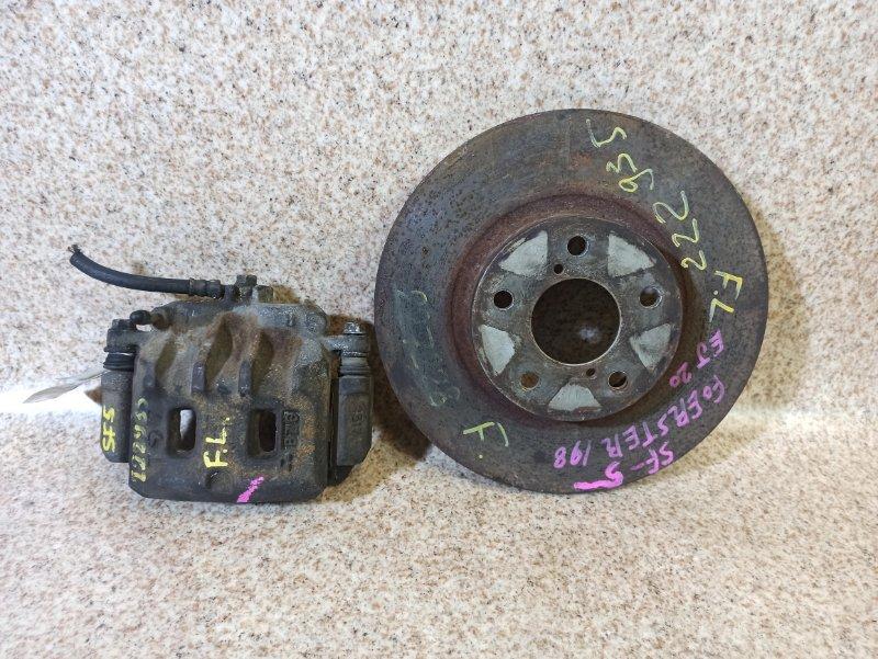 Тормозной диск Subaru Forester SF5 передний левый