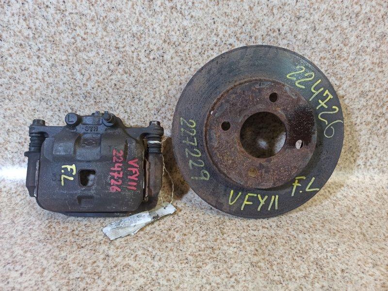 Тормозной диск Nissan Ad VY11 передний левый
