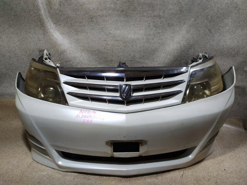 Nose cut Toyota Alphard ANH10 2AZ-FE передний