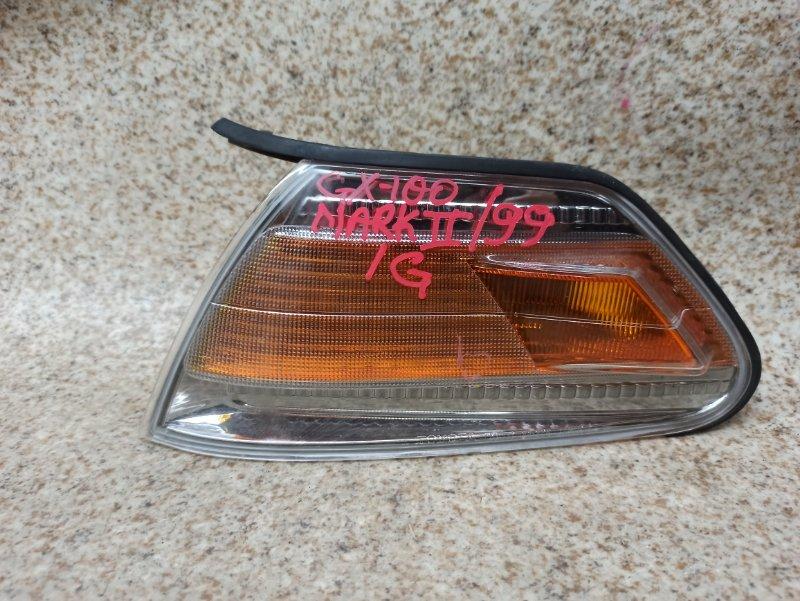Габарит Toyota Mark Ii GX100 передний левый