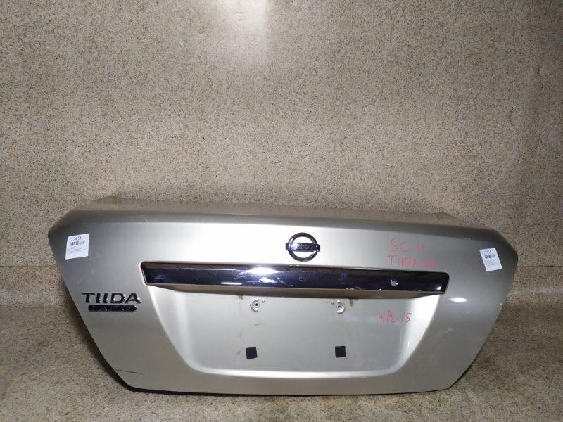 Крышка багажника Nissan Tiida Latio SC11 2009
