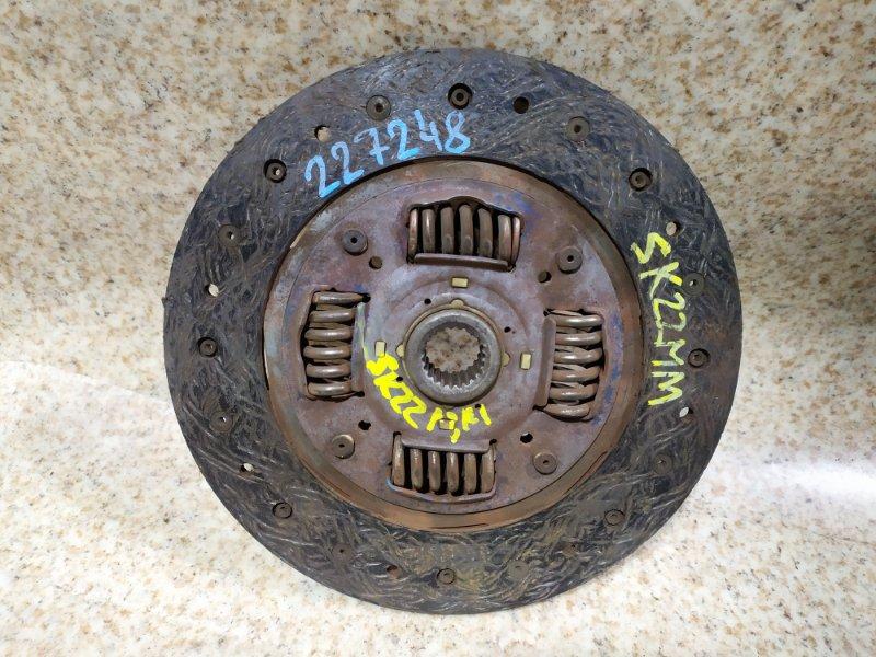 Диск сцепления Mazda Bongo SK22MM R2