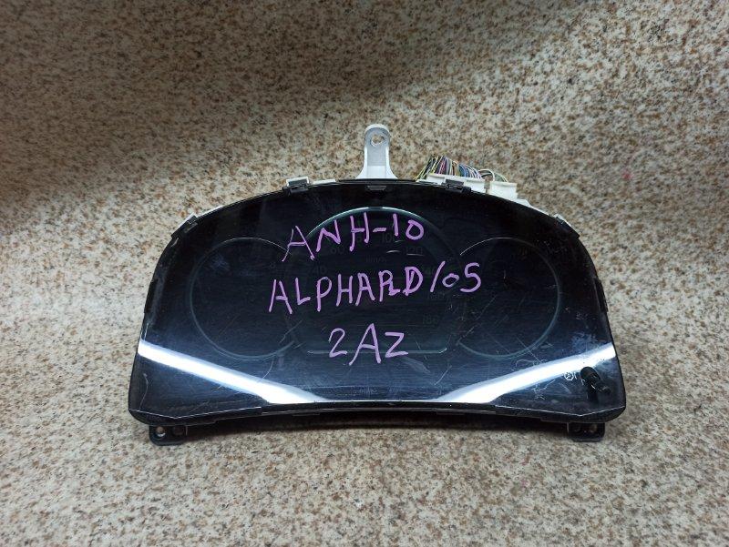 Спидометр Toyota Alphard ANH10 2AZ-FE 2005