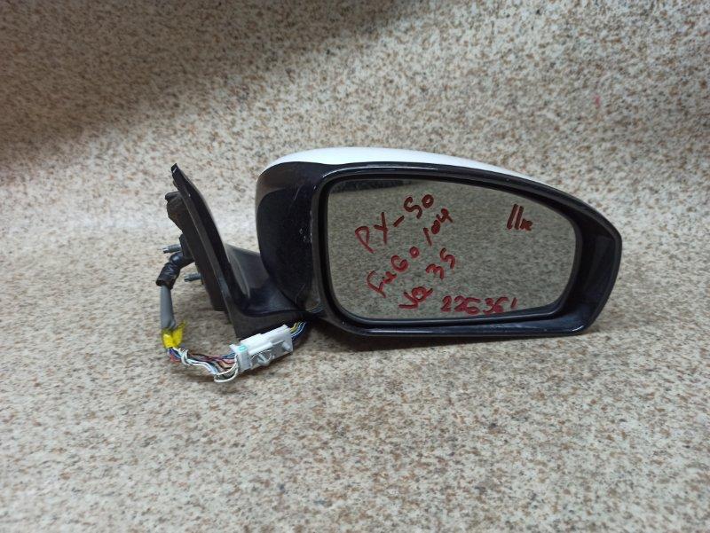 Зеркало Nissan Fuga Y50 2004 переднее правое