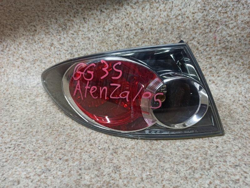 Стоп-сигнал Mazda Atenza GGEP задний левый