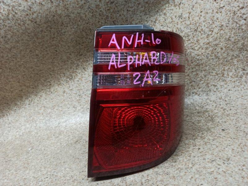 Стоп-сигнал Toyota Alphard ANH10 задний правый