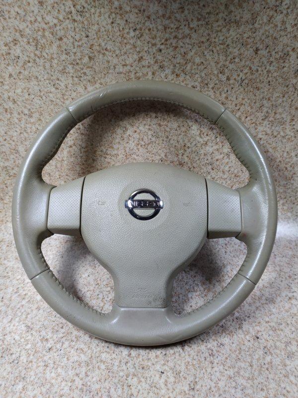 Руль Nissan Bluebird Sylphy G11