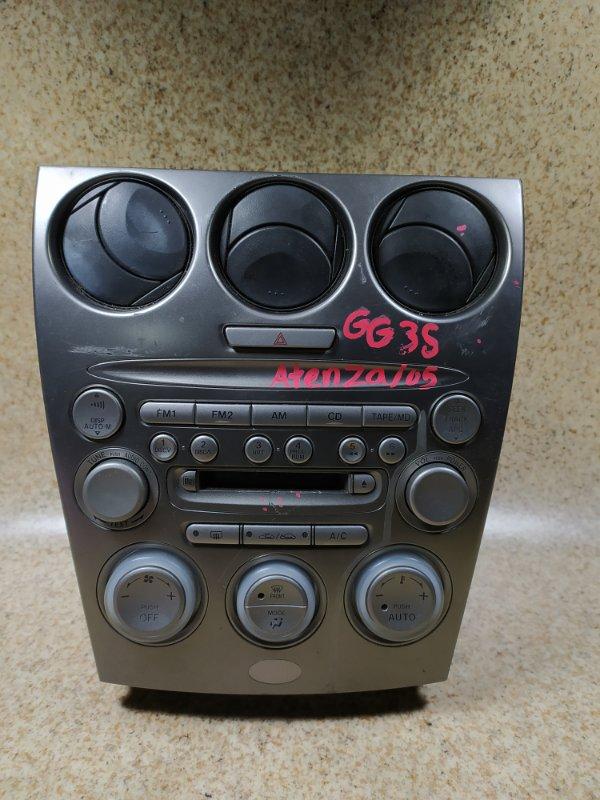 Климат контроль Mazda Atenza GY3W 2005