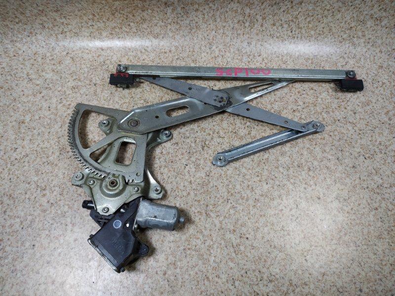 Стеклоподъемник Toyota Ractis SCP100 передний правый