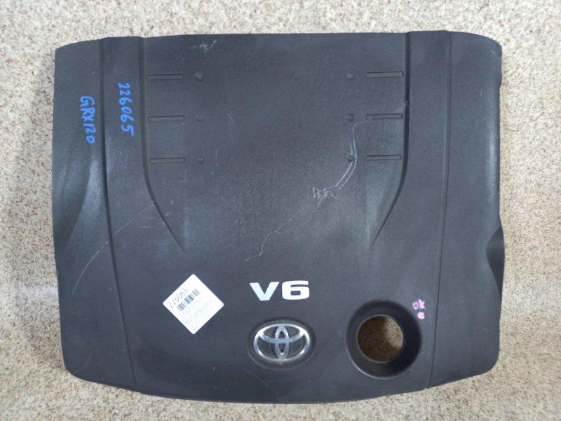 Пластиковая крышка на двс Toyota Mark X GRX120 4GR-FSE