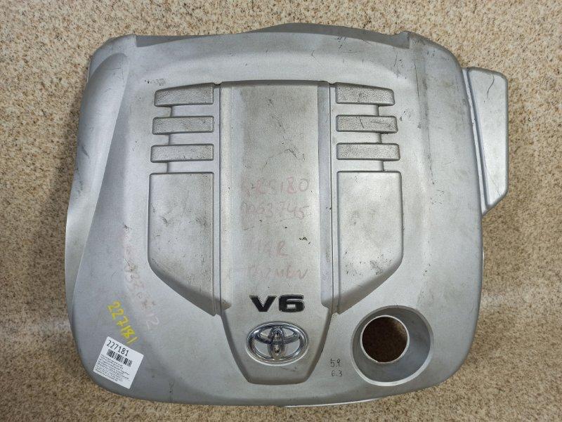 Пластиковая крышка на двс Toyota Crown GRS180 4GR-FSE