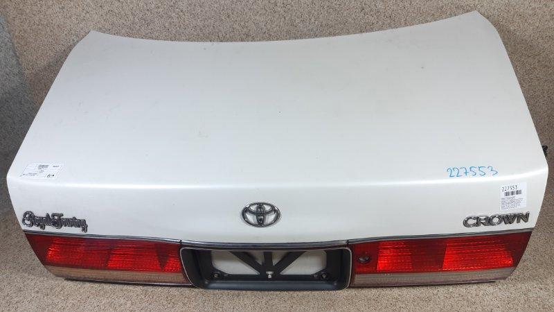 Крышка багажника Toyota Crown GS151 задняя