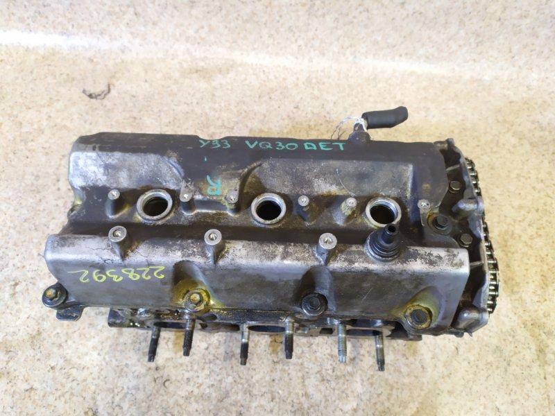 Головка блока цилиндров Nissan Cedric Y33 VQ30DET 1998 правая