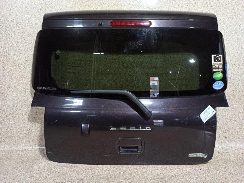 Дверь задняя Suzuki Alto Lapin HE22S 2013 задняя