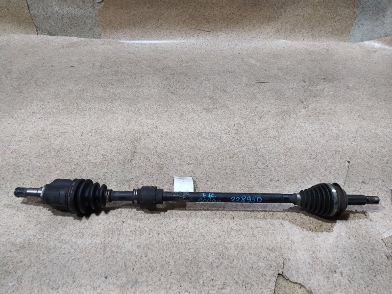 Привод Toyota Vitz SCP90 2SZ-FE передний правый