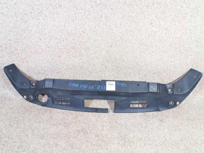 Планка замка капота Nissan Cima GF50 VK45DD 01.2001 передняя