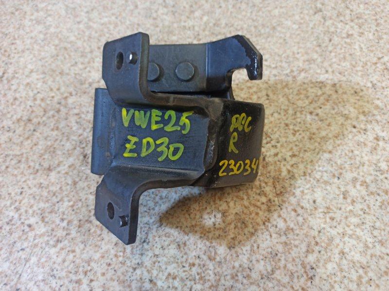 Подушка двигателя Nissan Caravan VWE25 ZD30DDTI правая