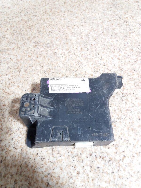 Блок управления кондиционером Toyota Ractis NCP100 #631788